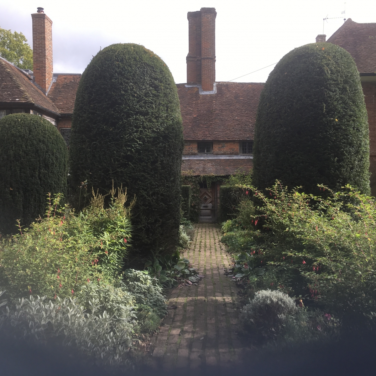 The Old Garden in late summer